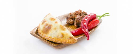 Empanada argentina de carn picant