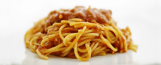 Spaghetti bolonyesa
